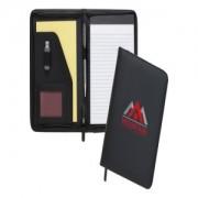Dartmouth A5 Conference Folder - Zipped (Centre Print)