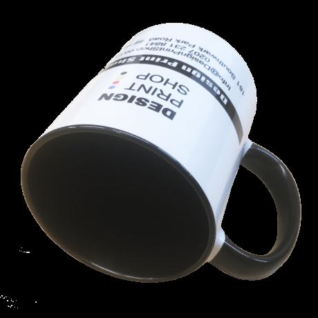 Two Tone Black Mug