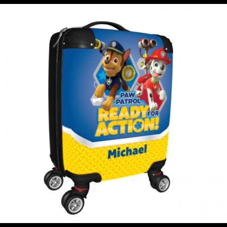 personalised kids suitcase