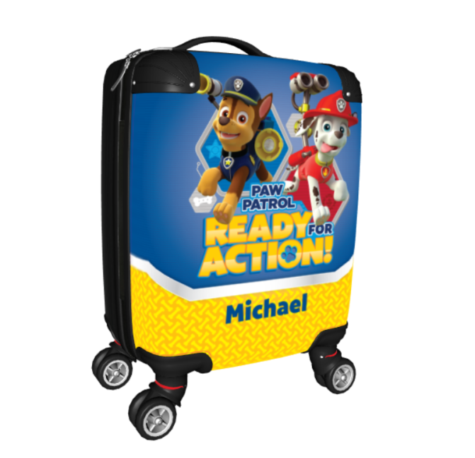 personalised kids suitcase